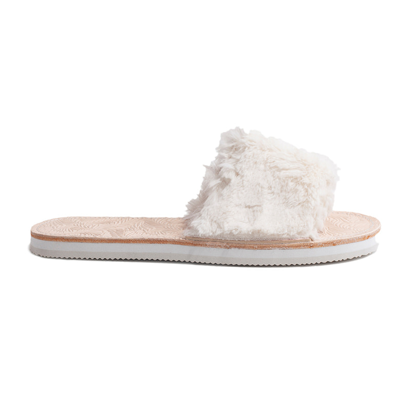 YASE SHOES 'COZY'SANDAL IVORY