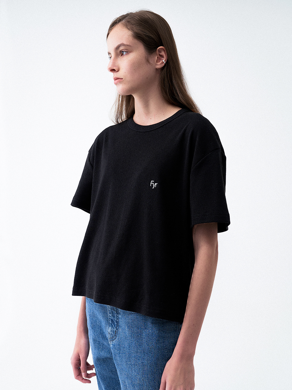 Foyer Signiture Tee Black